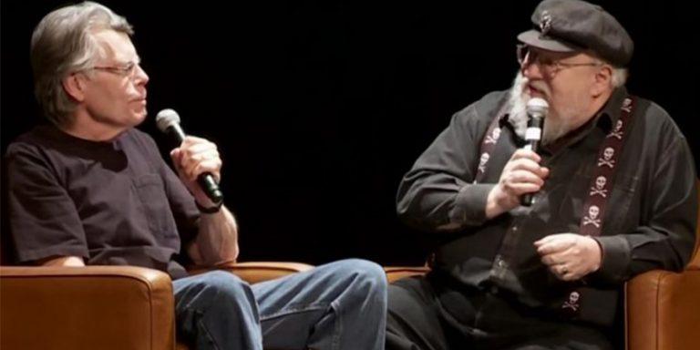 Uma conversa entre Stephen King e George R. R. Martin.